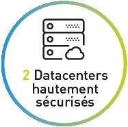 2 Datacenters hautement sécurisés